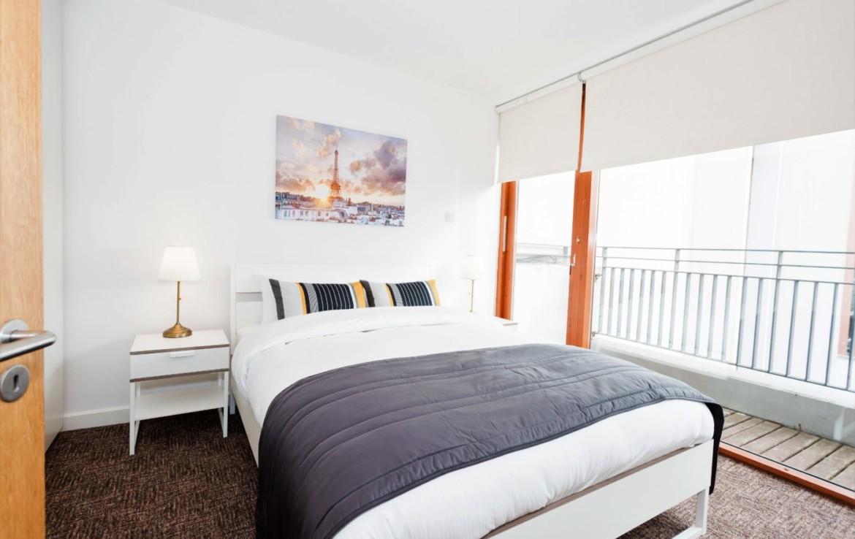 Leeson Close - Bedroom View